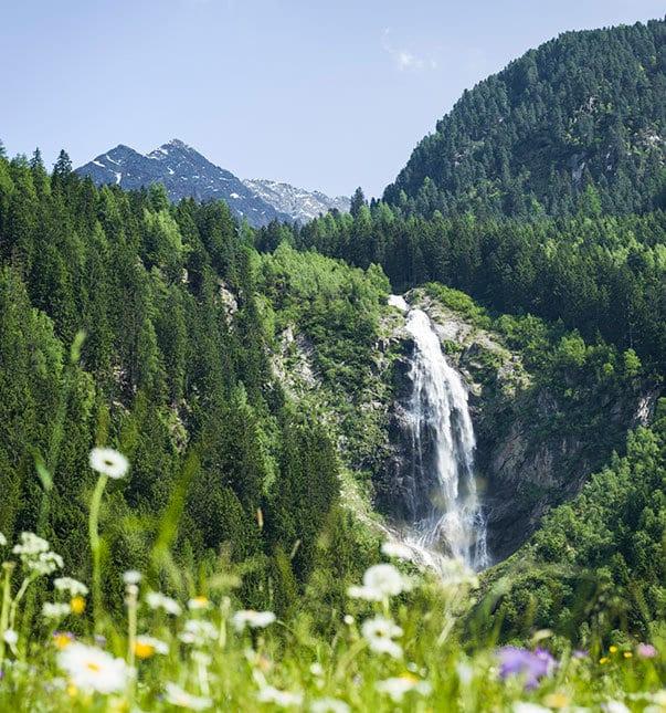 Sepp-und-Hannis-Sommer-Landschaft-Grawawasserfall-Urlaub-Stubai